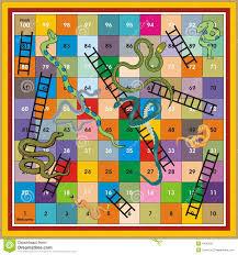 snake ladder ludo print u0026 play stock photo image 4440150