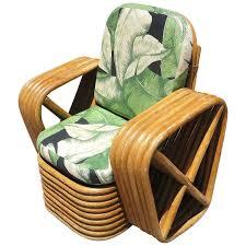 Wicker Lounge Chair Paul Frankl Child U0027s Pretzel Rattan Lounge Chair Chairish