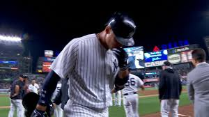 Aaron Judge Yankees Slugger Becomes Tallest Center Fielder - yankees aaron judge ok after chipping tooth mlb com