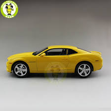 yellow color 1 18 chevrolet camaro bumble bee diecast model car yellow color