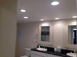 Can Lights In Bathroom Can Lights Bathroom Vanity You Use Led Light Bulbs In The