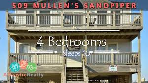 509 mullen u0027s sandpiper beach rentals outer banks nags head north