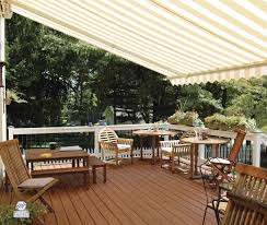 Shade Awnings For Decks Retractable Awnings At Patriot In St Louis