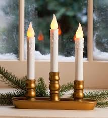 window candle lights decoration bringing light to the