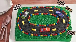 racetrack sheet cake recipe bettycrocker com