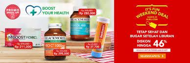 blibli weekend blibli weekend special offer diskon hingga 50 produk kesehatan