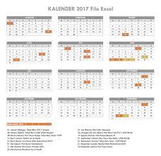 tutorial microsoft excel lengkap pdf kalender 2017 file excel dan pdf download kalender pinterest