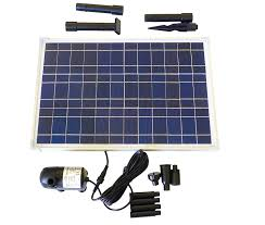 Solar Powered Water Features With Led Lights by Amazon Com Solar Water Pump Kit 400 Gph With 12v Brushless