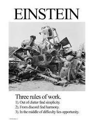 Einstein Cluttered Desk Albert Einstein Posters And Prints At Art Com