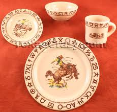 buy westward ho 4 pc rodeo dinnerware sets western true west