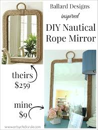 diy nautical rope mirror harpsounds co full image for diy nautical rope mirror 139 inspiring style for diy nautical rope mirror