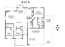 one story two bedroom house plans pretty ideas house plans single story with garage 8 one without on