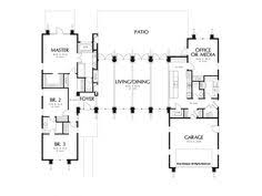 Open Plan House Plans Open One Story House Plans Home Plan 152 1004 Floor Plan First