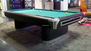 dining pool tables with modern black leg feat green cushion table