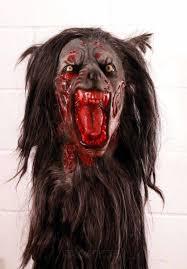 horror masks halloween black wolf mask halloween werewolf mask deluxe quality