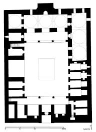 floor plan of zahiriyya madrasa aleppo archnet