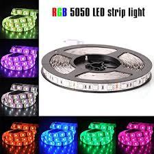 5050 smd 300 led strip light rgb amazon com econoled 12v flexible smd 5050 rgb led strip lights led