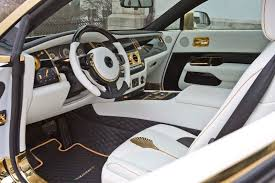 gold rolls royce mansory u0027s rolls royce wraith palm edition 999 dazzles with gold
