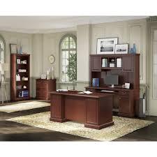 Bush Bennington L Shaped Desk Kathy Ireland Office Bennington Hutch By Kathy Ireland By Bush