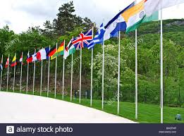 Flags Of All Nations Flags Of All Nations Hosted On Colle Miravalle Is Where The Great
