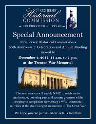the new jersey historical commission njhc is turning 50 help us