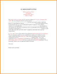 Example Of Legal Letter by 6 Legal Guardianship Document Example Ledger Paper