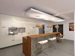 faux plafond salon attrayant cuisine avec bar arrondi 12 faux plafond bois cuisine