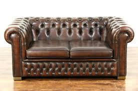 Leather Settees Uk Second Hand Brown Leather Couches For Sale Sofas Uk 23923