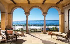 mediterranean designs wrought iron fence designs patio mediterranean with arch beam