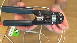 how to use a rj45 crimp tool crimping tool for cat5 cat6