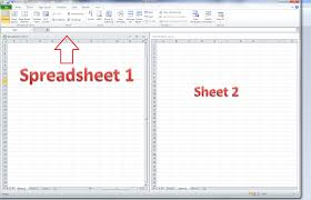 Spreadsheet Microsoft Excel How Do I View Two Excel Spreadsheets At A Time Libroediting