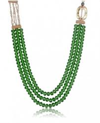 string beads necklace images Bead necklaces 3 strings green beads necklace rutbaa jpg