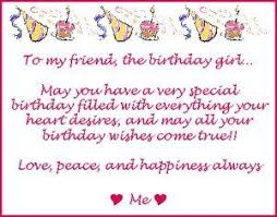 birthday card messages sayings and wishes to your friends