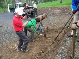 boy scout project at lake berryessa