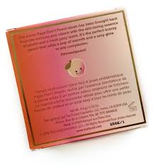 too faced papa don u0027t peach blush review the budget beauty blog