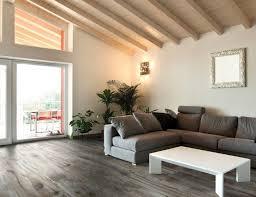 living room flooring ideas tile brown microfiber sectional sofa