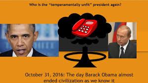 obama u0027s halloween scare for america he threatened putin over the