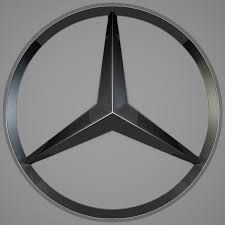 mercedes logo black and white mercedes logo by reticulum 3docean