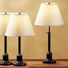 restoration hardware library lamps look 4 less
