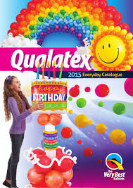 qualatex balloons 2015 pel qualatex everyday catalog by pioneer balloon company issuu