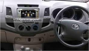 easy installation steps for 2012 toyota hilux gps dvd support bt