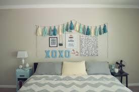 Diy Bedroom Wall Art Ideas Cute Bedroom Diy Wall Arts With Framed Photos And Colorful Cloths