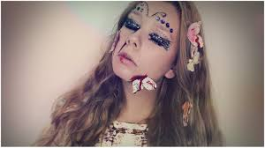 Halloween Makeup Butterfly by Dead Butterfly Make Up I Halloween 2014 Youtube