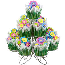 Wilton Easter Icing Decorations by Flora Cupcakes Display Wilton