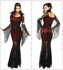 wholesale gothic costume halloween dress costume witch