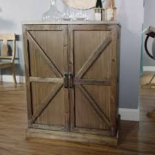 Barn Door Cabinet Hardware by Wood Farmhouse Barn Door Bar World Market
