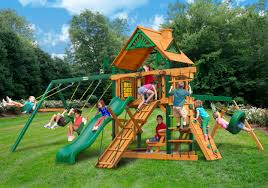 lowest price gorilla frontier playset free shipping swing set