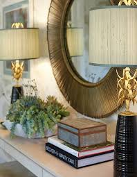 Mirror Over Buffet by Get The Look Pair Of Ananas Table Lamps Ro Sham Beaux With