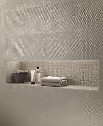 indoor tile wall ceramic geometric pattern taupe mosaico