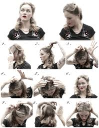 how to hair 1940 u0027s hairstyles archives
